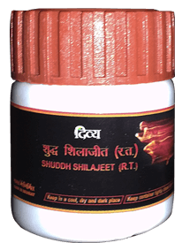 Divya Shudh Shilajit For Anti Aging Treatment