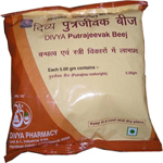 Divya Putrajevak Beej (Seed) For Female Infertility
