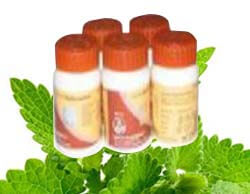 package of medicines for detox