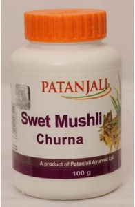Patanjali Swet Mushli Churna For Energy Boosters