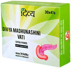 Divya Madhunashini Vati for Diabetes