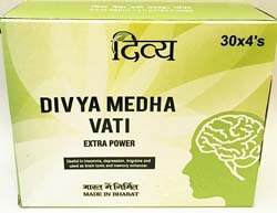 Divya Medha Vati for Improving Memory