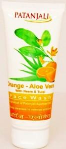 Patanjali Orange Aloevera Face Wash For Glowing Skin