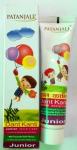 Patanjali Dant Kanti Junior Dental Cream