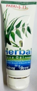 Patanjali Herbal Shave Gel - 50 gm