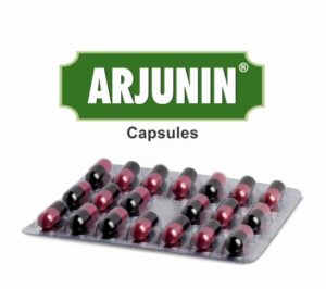 Arjunin Capsule To Remove Heart Blockages & Prevention Of Coronary Heart Disease