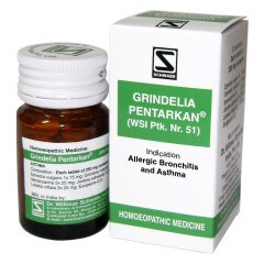 Grindelia Pentarkan For Bronchial Asthma
