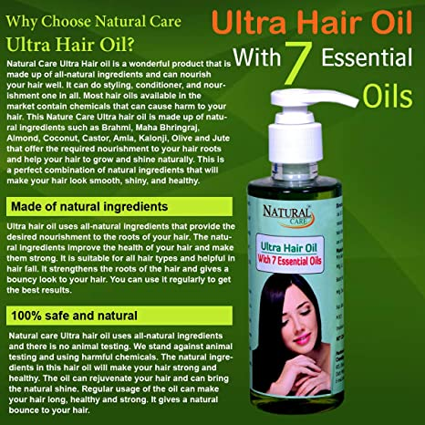 Natural Care oil for hair fall
